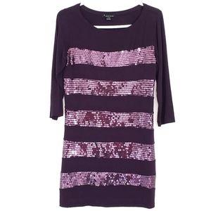 Forever 21 | Purple Sequin Dress